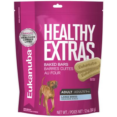 Eukanuba K9 Healthy Extras Treats For Adult Large Breed Dogs 341g
