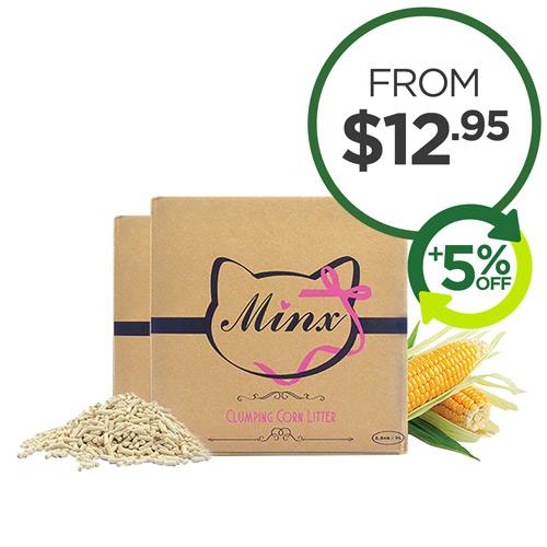 Minx Clumping Corn Litter
