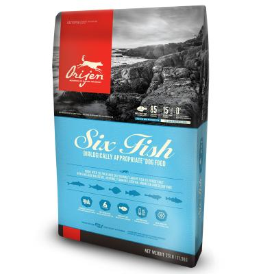 Orijen Six Fish Adult Dry Dog Food 11.3kg