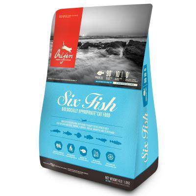 Orijen Six Fish Adult Dry Cat Food 1.8kg
