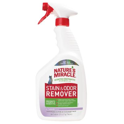 Natures Miracle Just For Cats Stain And Odour Remover Lavender Scent 946ml