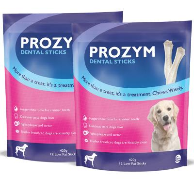 Prozym Dental Sticks Large For Dogs Over 20kg 12 Pack x 2