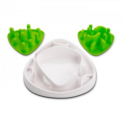 AFP Interactives Treat Food Maze Slow Feeder Bowl Toy For Dogs