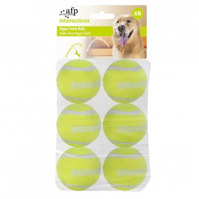 AFP Interactives Fetch Balls Suitable For Fetch 'N Treat And Hyper Fetch Toy (6 Pack)