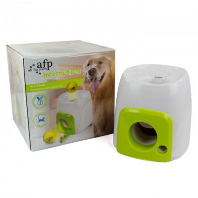 AFP Interactives Fetch 'N Treat Reward Puzzle Play Toy For Dogs