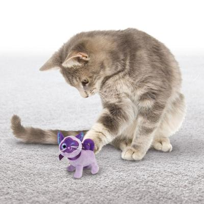 KONG Crackles Winkz Cat Cuddly Play Plush Catnip Toy For Cats