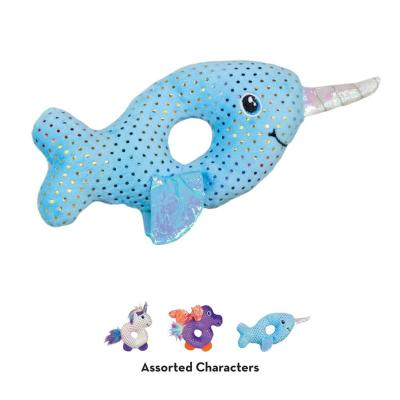 KONG Enchanted Characters Assorted Mythical Creatures Crinkle Sparkle Catnip Toy For Cats