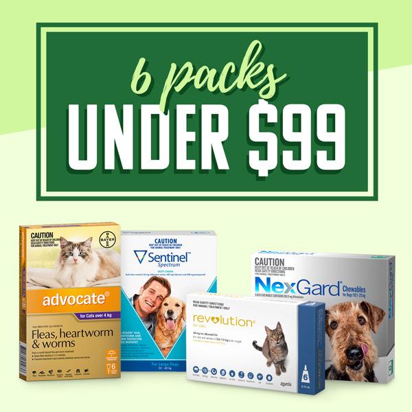 6 Packs Under $99