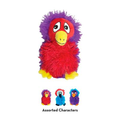 KONG Quirky DoDo Assorted Character Plush Squeak Medium Toy For Dogs