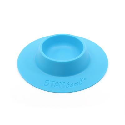 STAYbowl Tip Proof Bowl Small 1/4 Cup Blue For Small Pets