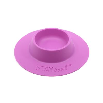 STAYbowl Tip Proof Bowl Small 1/4 Cup Fushia For Small Pets