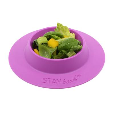 STAYbowl Tip Proof Bowl Large 3/4 Cup Fushia For Small Pets