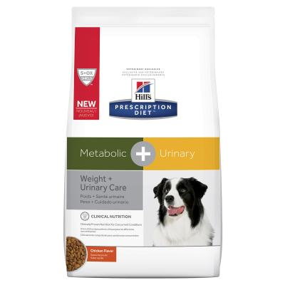 Hills Prescription Diet Canine Metabolic + Urinary Dry Dog Food 3.85kg  (603823)