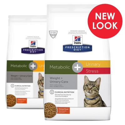 Hills Prescription Diet Feline Metabolic & Urinary Stress Dry Cat Food 2.88kg (10554)