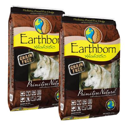 Earthborn Grain Free Primitive Natural Chicken And Whitefish Dry Dog Food 24kg