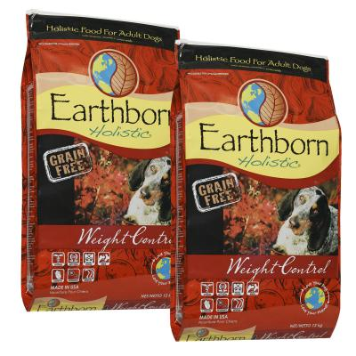 Earthborn Grain Free Weight Control Chicken Adult Dry Dog Food 24kg