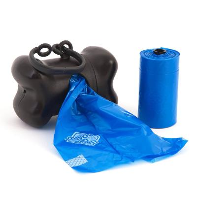Bags On Board Pet Waste Poo Bag Black Bone Dispenser With New Dookie Dock