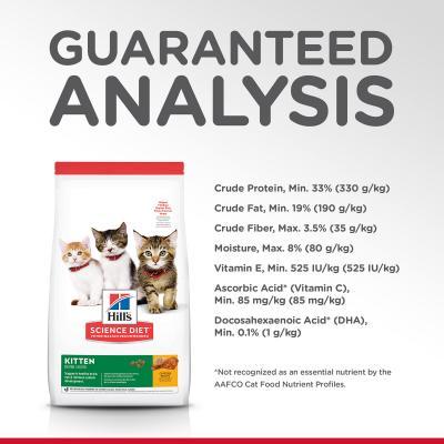 Hills Science Diet Kitten Chicken Recipe Dry Cat Food 10kg (10306HG)