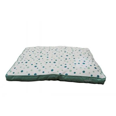ZeeZ Gusset Mint Polkadot Bed For Dogs (99x74x8cm)