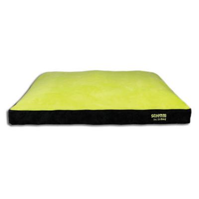 Scream Gusset Loud Green Bed For Dogs (99x74x8cm)