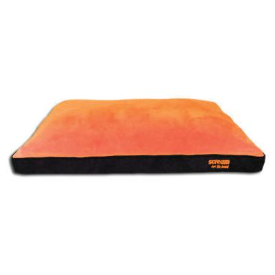 Scream Gusset Loud Orange Bed For Dogs (99x74x8cm)