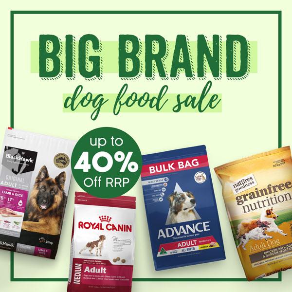 Big Brand Dog Food Sale