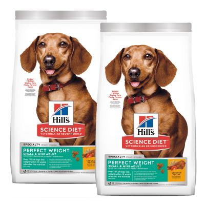 Hills Science Diet Perfect Weight Chicken Recipe Small/Toy/Mini Breed Adult Dry Dog Food 13.6kg