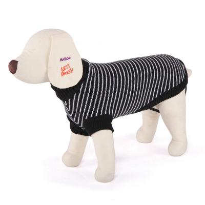 Kazoo Breton Jumper Dog Coat White/Black Medium 46.5cm