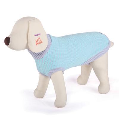 Kazoo Funky Jumper Mint/Grey Dog Coat Small 40cm