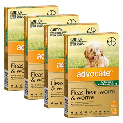 Advocate For Dogs Small Green Up To 4kg 12 Pack