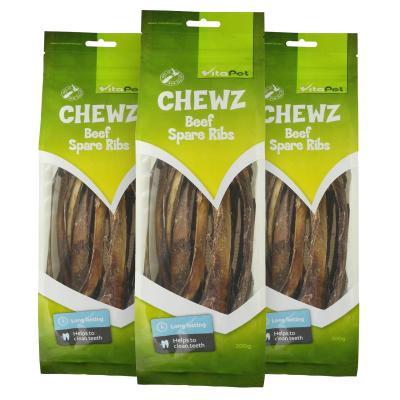 Vitapet Chewz Beef Spare Ribs Dental Treats For Dogs 600gm