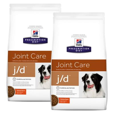 Hills Prescription Diet Canine j/d Joint Care Chicken Dry Dog Food 25kg (8598)