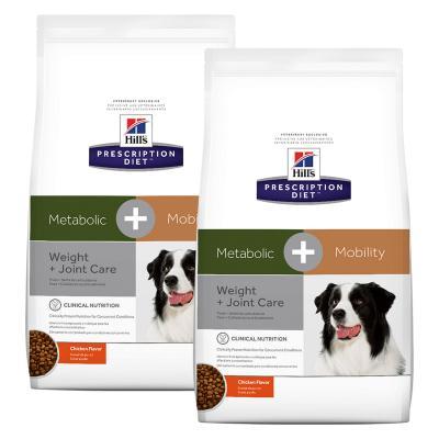 Hills Prescription Diet Canine Metabolic + Mobility Dry Dog Food 21.6kg (10044)