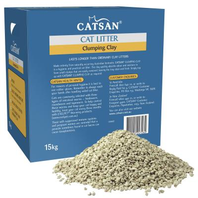 Catsan Clumping Clay Litter For Cats 15kg