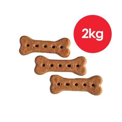 Australian Pettreats Baked Biscuits Chicken Treats For Dogs 1kg x 2 Pack