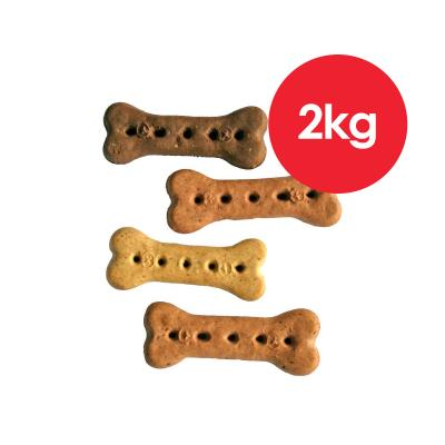 Australian Pettreats Baked Biscuits Multi Flavour Treats For Dogs 1kg x 2 Pack