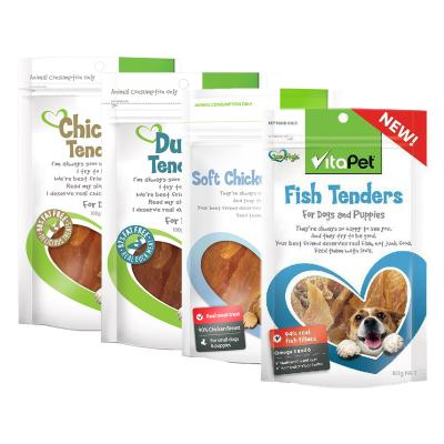 Vitapet Four Flavours Tenders Treats Pack For Dogs 380gm