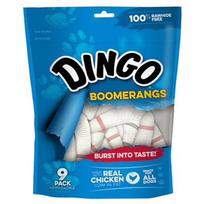 Dingo Boomerangs Chicken Treats For Dogs 9Pk 180g
