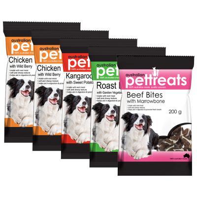 Australian Pettreats Bites Flavour Fun Pack Treats For Dogs 1kg