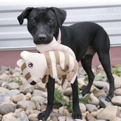 KONG Ballistic Woodland Rabbit Medium Large Soft Squeak Toy For Dogs