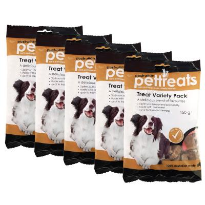 Australian Pettreats Treat Variety Pack Treats For Dogs 750g