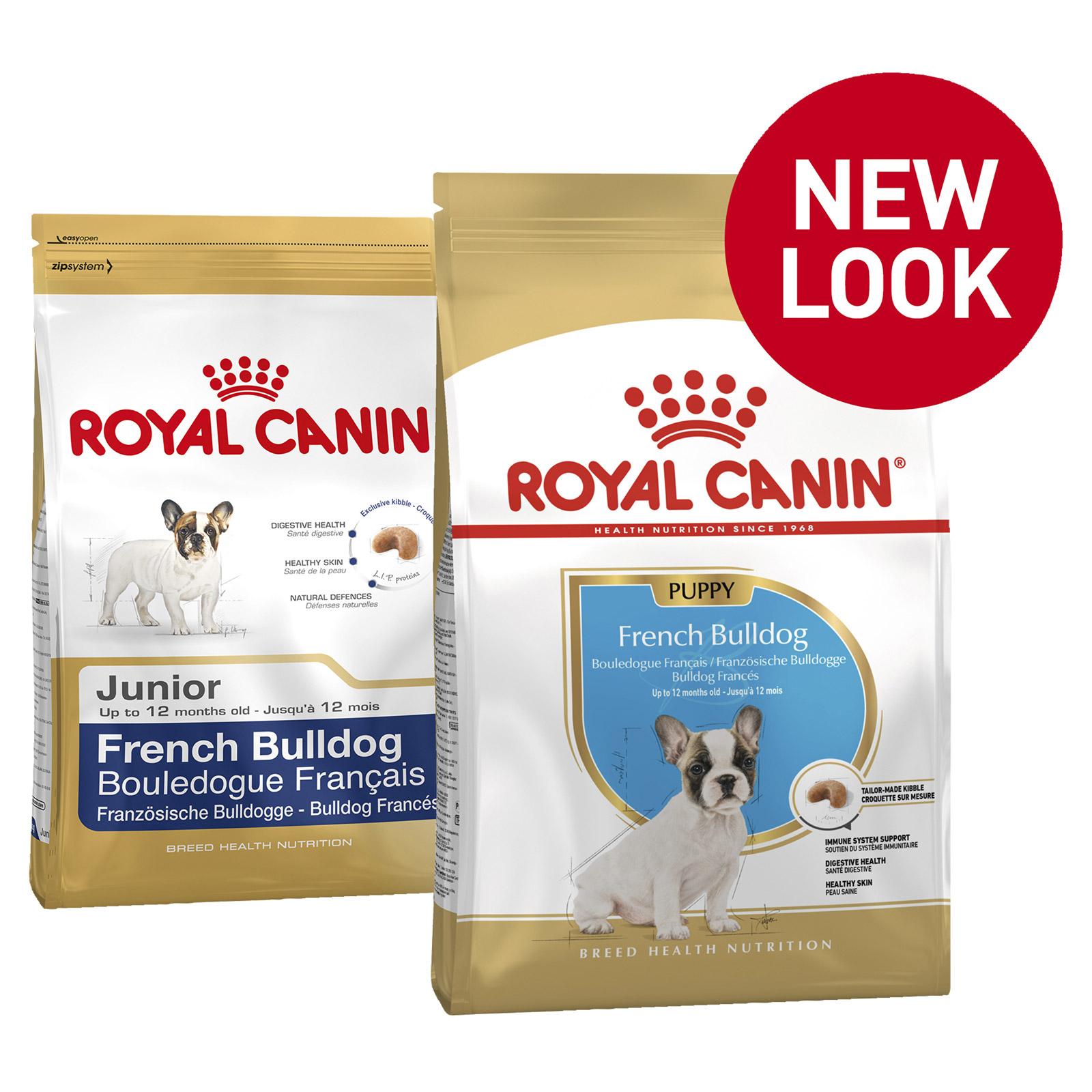Royal Canin French Bulldog Puppy Dry Dog Food 3kg 37 40