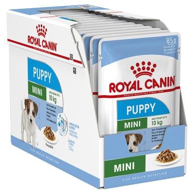 Royal Canin Mini Puppy Loaf Pouches Wet Dog Food 12 x 85g
