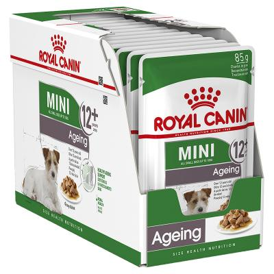 Royal Canin Mini Ageing Loaf Pouches Wet Dog Food 12 x 85g