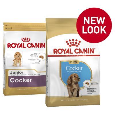 Royal Canin Cocker Spaniel Puppy Dry Dog Food 3kg