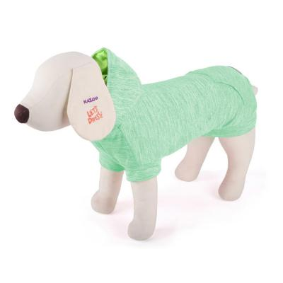 Kazoo Active Surfer Hoodie Dog Coat Green Small 40cm