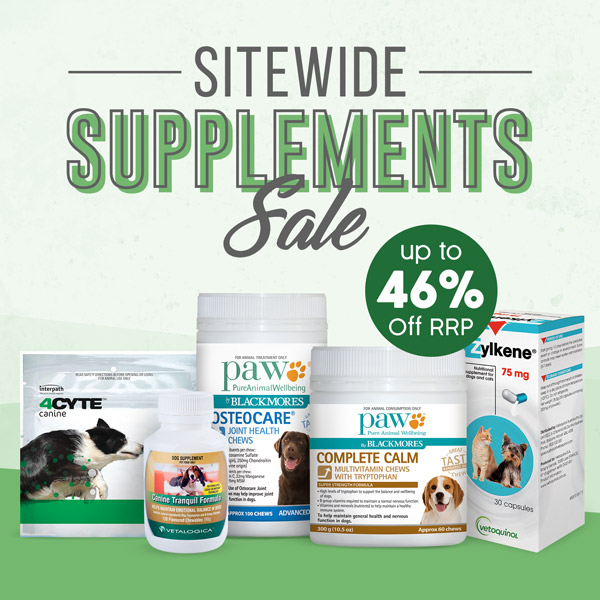 Sitewide Supplements Sale