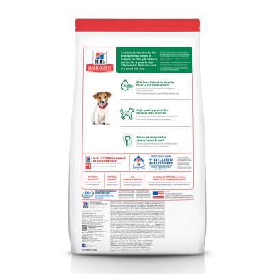 Hills Science Diet Chicken Meal Barley Recipe Small Bites Puppy Dry Dog Food 2.04kg