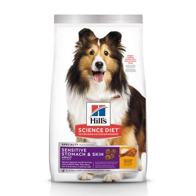 Hills Science Diet Sensitive Stomach And Skin Chicken Recipe Adult Dry Dog Food 1.81kg