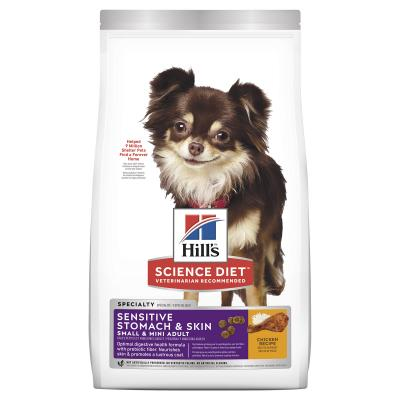 Hills Science Diet Sensitive Stomach And Skin Chicken Recipe Small/Mini Adult Dry Dog Food 1.8kg